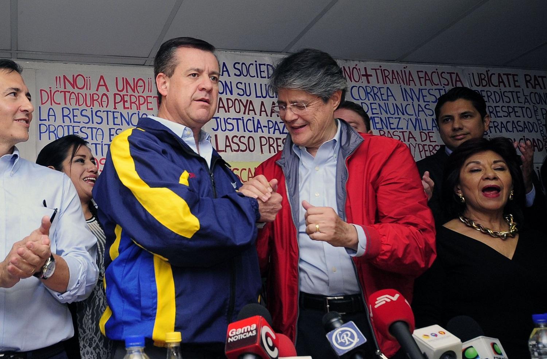 Guillermo Lasso anuncia a Andrés Páez como su binomio presidencial
