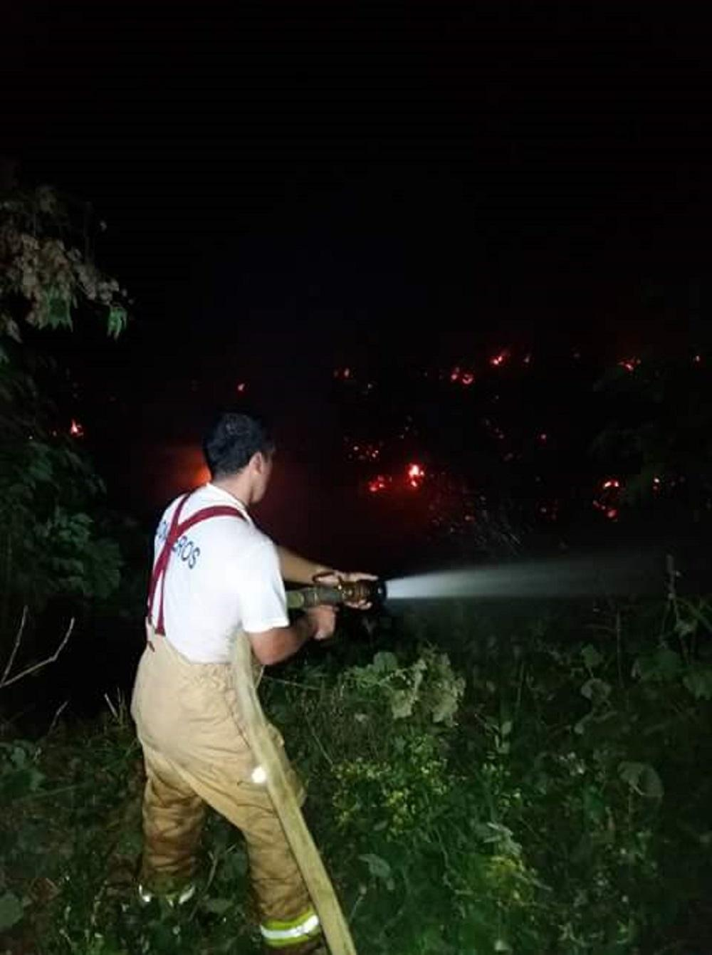 Tres incendios en tres días en La Concordia