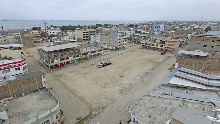 Reconstrucción en Tarqui y Los Esteros será visible en 2017