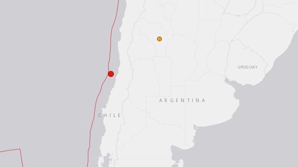 Un sismo de 6,0 de magnitud afecta región central de Chile
