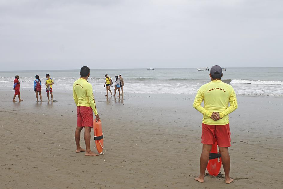 Más de 150 bañistas han sido rescatados en El Murciélago