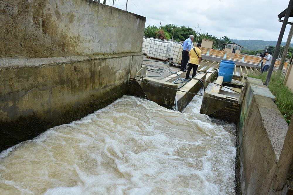 Dos días sin agua potable en Santo Domingo