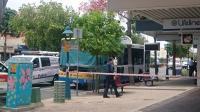 Un desconocido le prende fuego al chofer de un bus