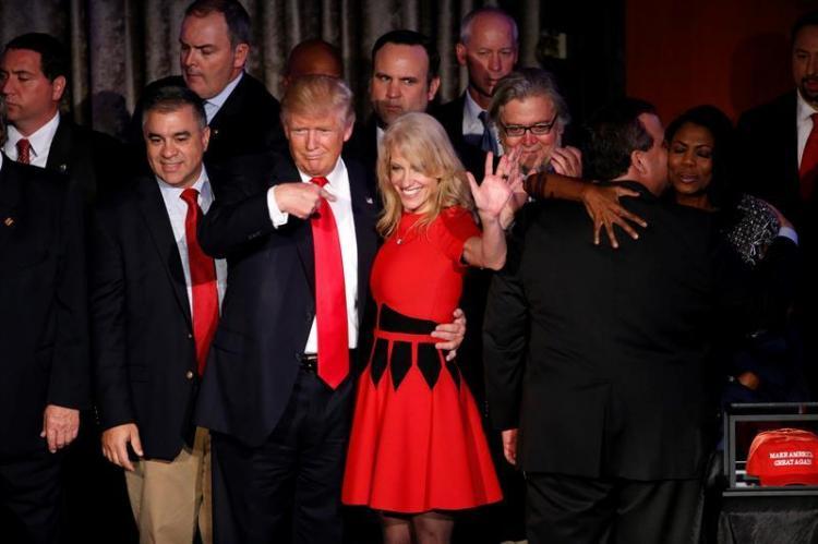 Alegría y lágrimas: Las dos caras tras la victoria presidencial de Donald Trump