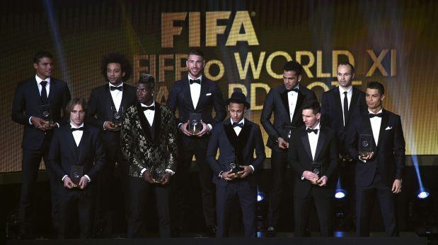 Esta es la lista de los 55 mejores jugadores del año, según la FIFA