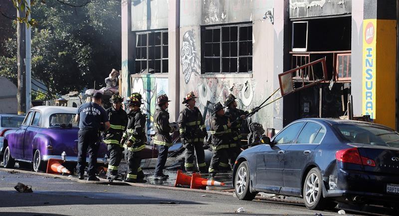 Al menos 9 muertos en incendio en concierto en EEUU