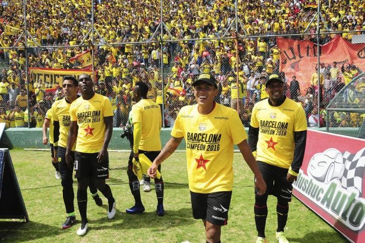 Barcelona Campeón del torneo ecuatoriano de fútbol 2016