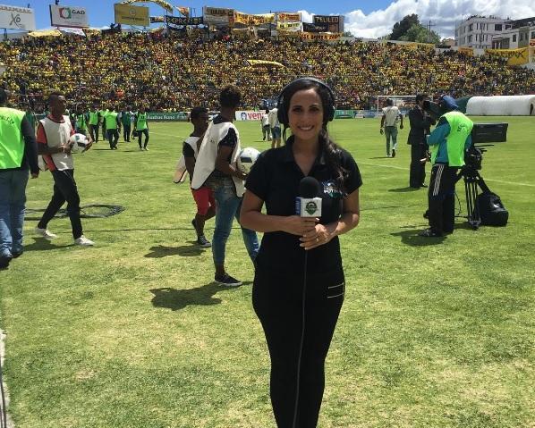 Presentadora deportiva María José Flores está embarazada