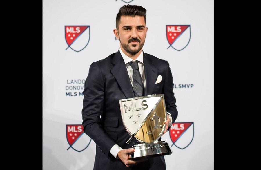 David Villa es elegido mejor jugador de la temporada en Estados Unidos