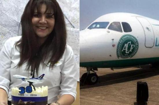 Boliviana que cuestionó el plan de vuelo de Lamia solicitó refugio en Brasil