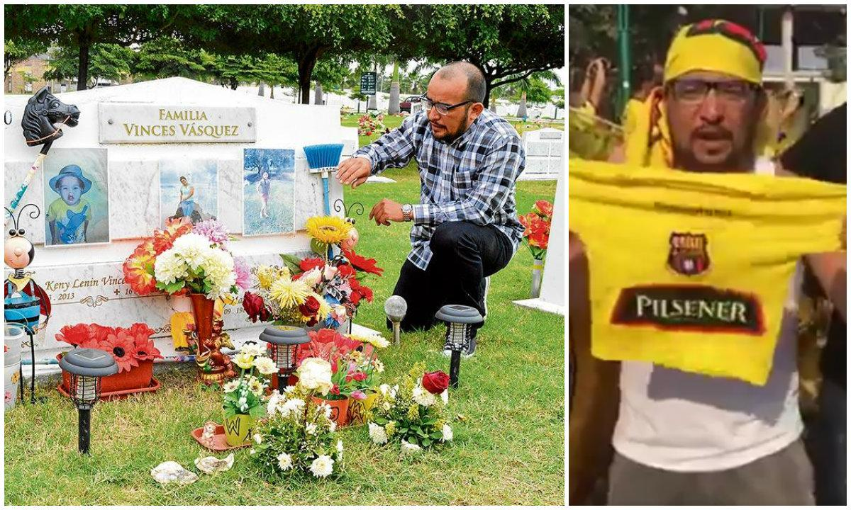Hincha dedica la estrella 15 de Barcelona a su familia fallecida en el terremoto