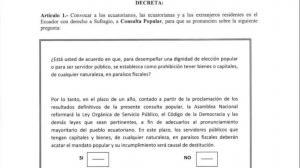 Presidente Correa convoca a consulta popular sobre paraísos fiscales
