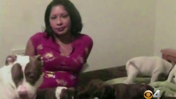 Perro pitbull atacó con furia a su dueña y sólo la policía de élite pudo detenerlo