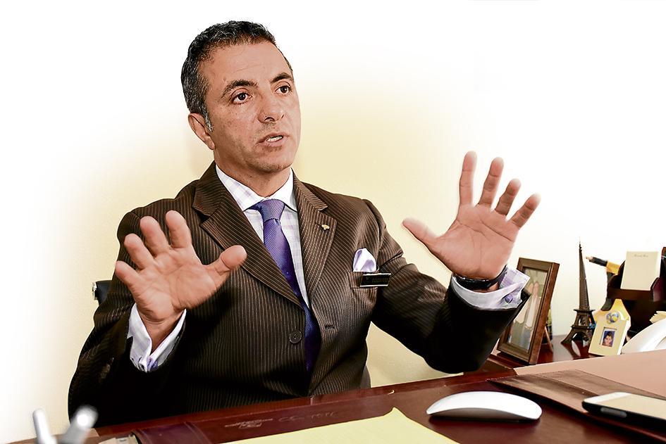 Ricardo Ferri, gerente del hotel Oro Verde, ha vivido la experiencia de dos terremotos