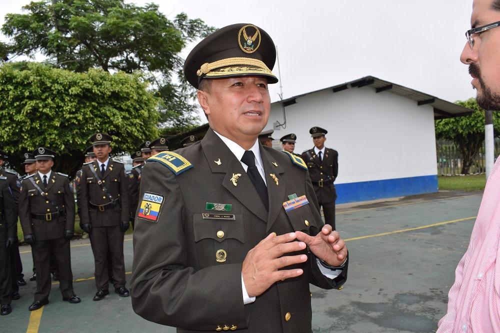 Presentan al nuevo jefe de la Policía