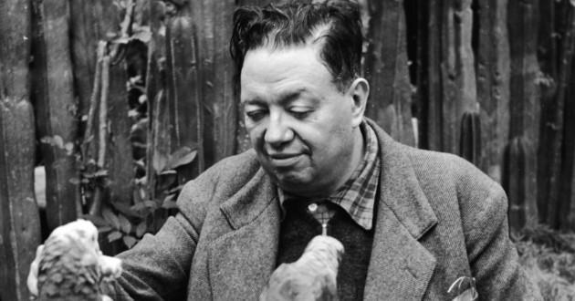 Hoy se recuerda el natalicio de muralista mexicano Diego Rivera