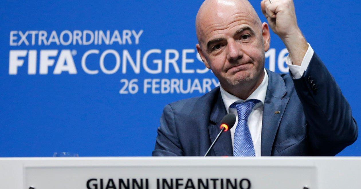Infantino pide 'tolerancia cero' ante abusos sexuales a futbolistas jóvenes