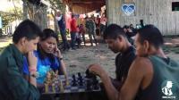 Las FARC se suman al reto del maniquí sin fusiles