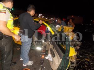 Joven taxista muere tras  choque en la vía Portoviejo-Manta