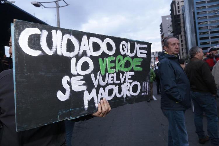 Ciudadanos protestan contra la Ley de Plusvalía