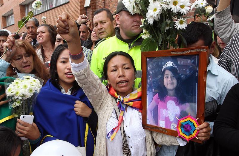 Hallan muerto a vigilante del edificio en donde fue asesinada la niña colombiana