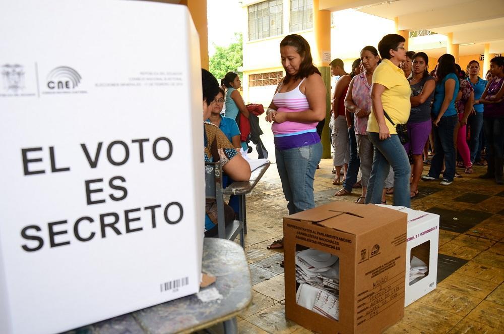 ¿Dónde votarán los manabitas en las elecciones de febrero de 2017?
