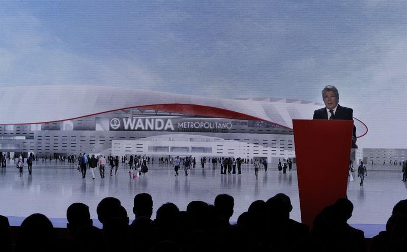 Wanda Metropolitano, nombre del nuevo estadio del Atlético