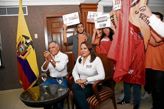 Paco Moncayo: 'Una corporación para reconstruir Manabí'