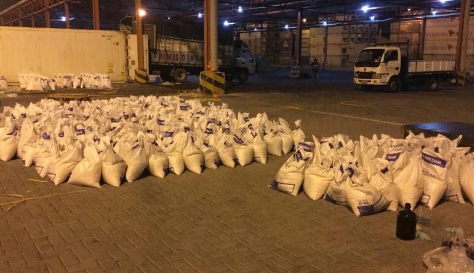 Once toneladas de cocaína fueron incautadas en el Puerto de Guayaquil