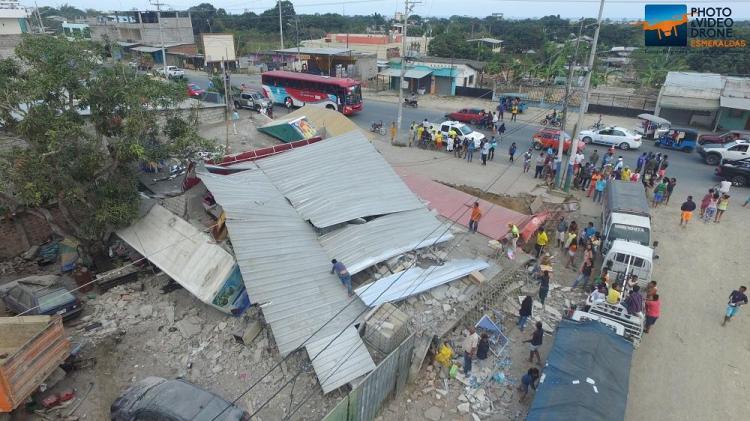 Sismo en Esmeraldas deja dos fallecidos y varias edificaciones afectadas