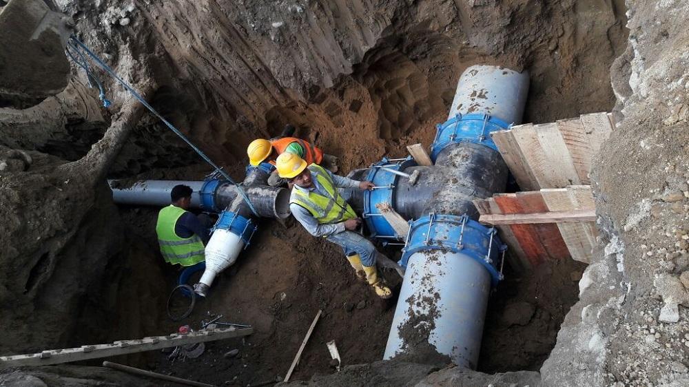 Dos d as sin agua el diario ecuador for Agua potable quito