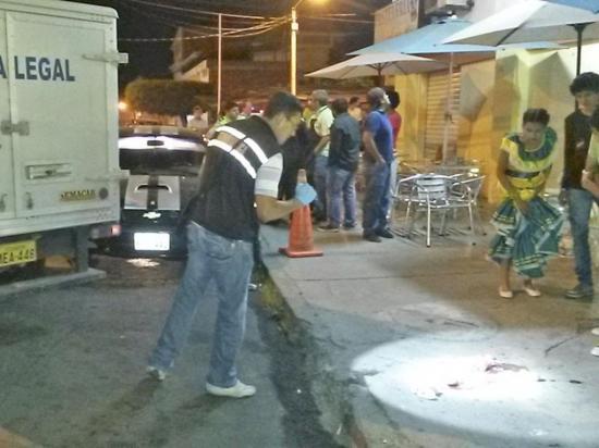 Sentenciados por asesinato en la avenida Flavio Reyes