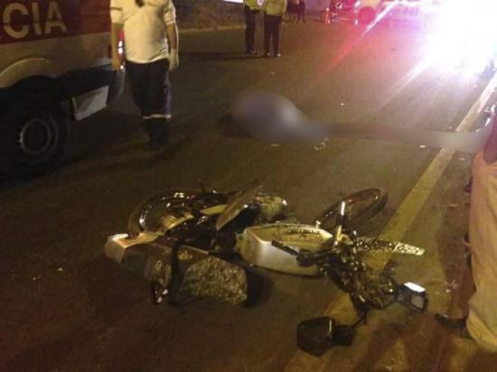 Accidente de tránsito en la vía Circunvalación de Manta deja una persona fallecida