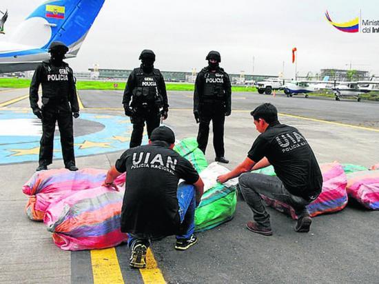 48,97 toneladas de drogas incautadas