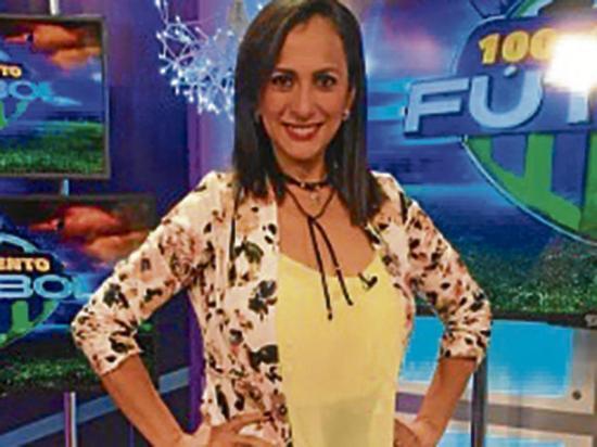 María José Flores está esperando un niño