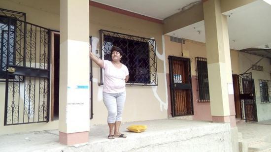 Retorna a su hogar luego del terremoto