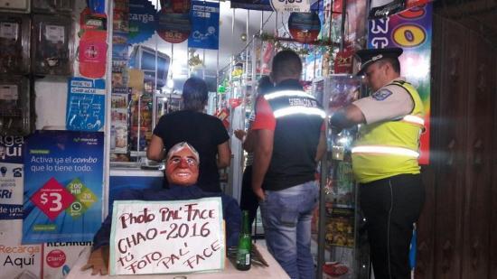 Intendencia clausura local