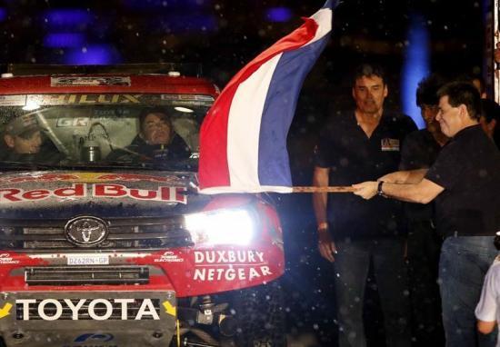 Dakar 2017 arranca oficialmente desde Paraguay con destino a Argentina
