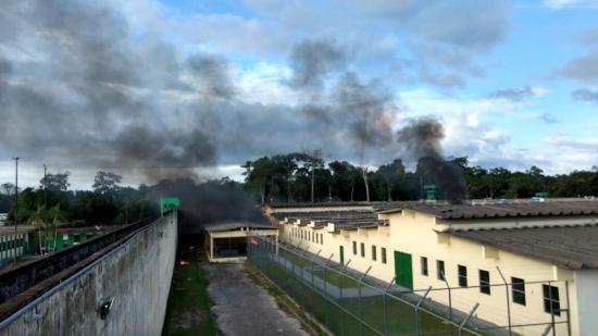 Un violento motín termina con al menos 60 muertos en una cárcel brasileña