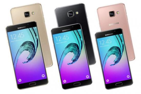Samsung inicia el 2017 con nuevos modelos de celulares