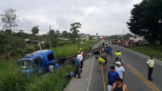 Dos heridos en la vía a Quevedo