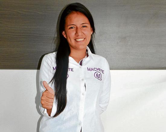 Samanta Perero propone facilidad para estudiantes