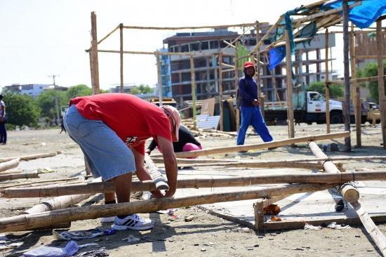 De los 191 nuevos comerciantes que se asentaron en La Poza tras el terremoto solo 60 serán reubicados