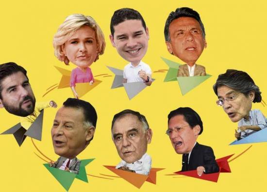 Candidatos presidenciales iniciaron campaña electoral