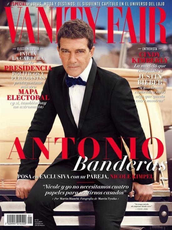 Antonio Banderas afirma que trabajar con un director mexicano sería 'un lujo'