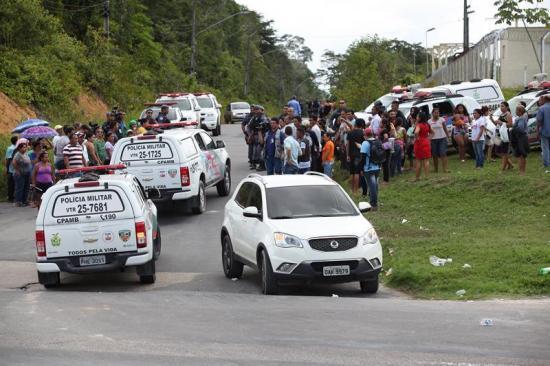 Dos muertos y dos heridos en rebelión en otra cárcel de Brasil