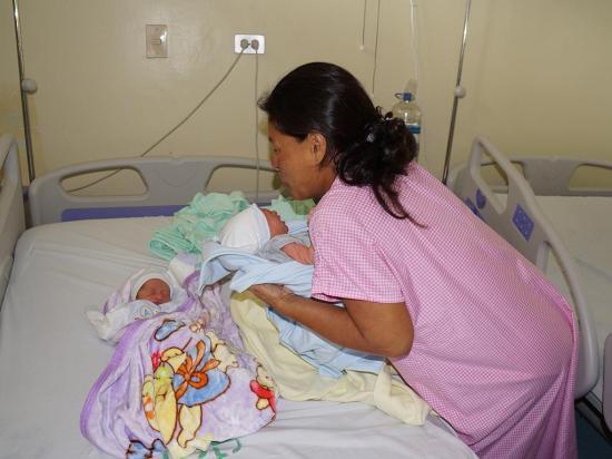 6 partos en el  inicio del año