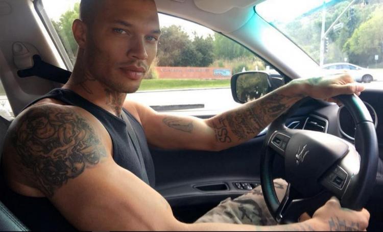 Jeremy Meeks, el preso más guapo triunfa en Instagram