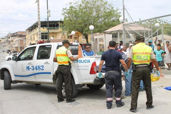Hombre muere tras sufrir una caída en Los Esteros