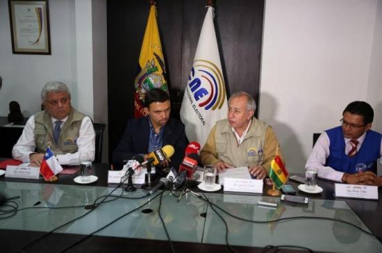 Observador boliviano destaca plataforma tecnológica para elecciones Ecuador